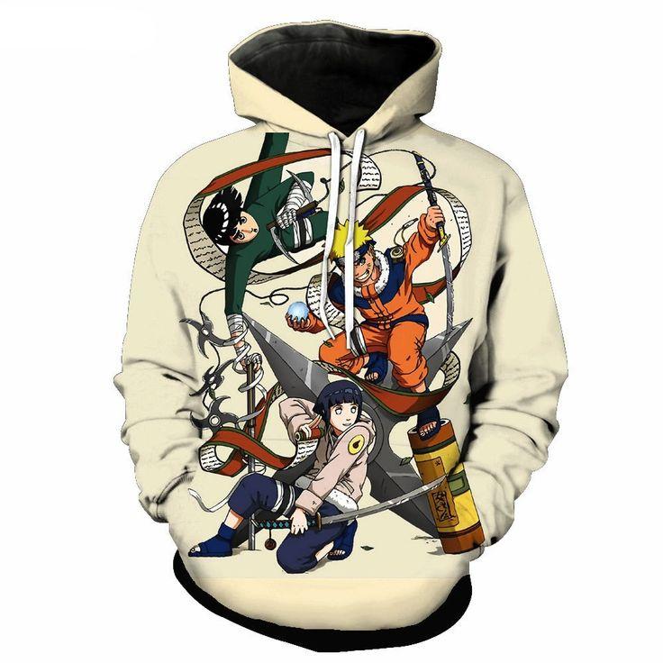 Naruto 3d printed hoodie hoodie print hoodies naruto