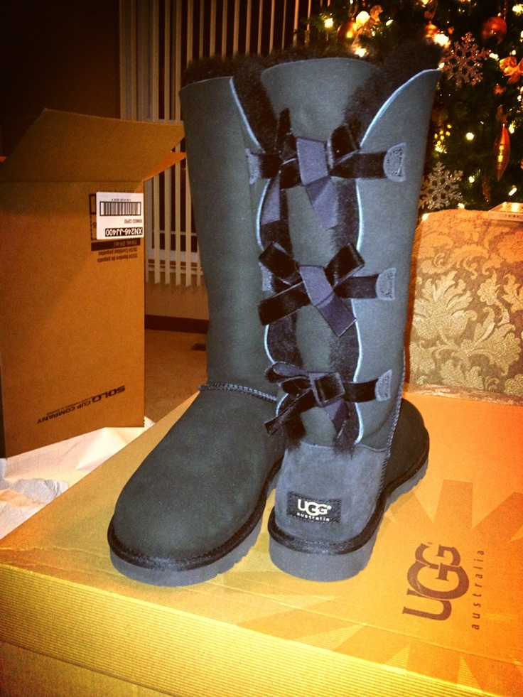 womens tall uggs with bows