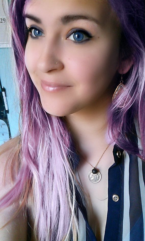 tiny nose ring stud delicate jewelry by BohoTreasureChests on Etsy
