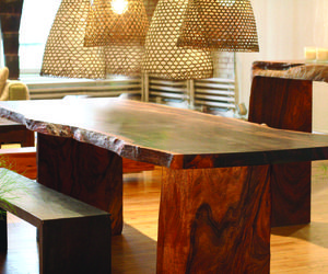 Japanese Dining Table By Tucker Robbins