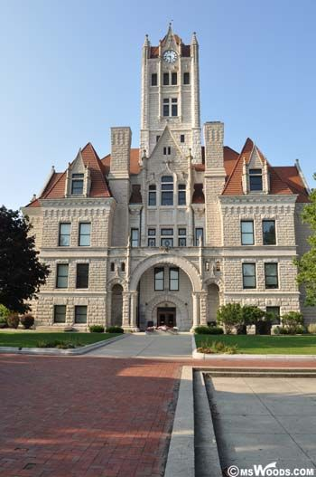 County Courthouse photo Greenfield Indiana