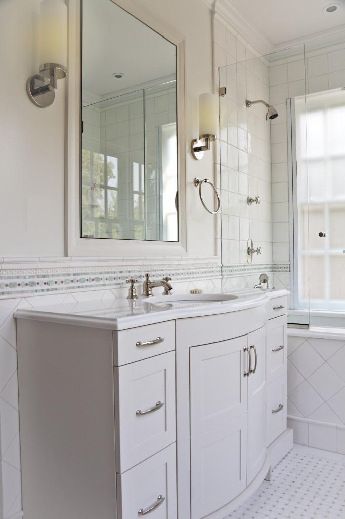 Bronxville Residence- New York, NY Love This Bathroom