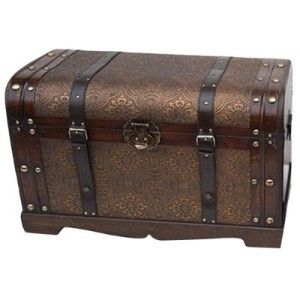Old World Victorian Decorative Trunk