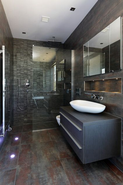 Contemporary Bathroom by Dyer Grimes Architecture
