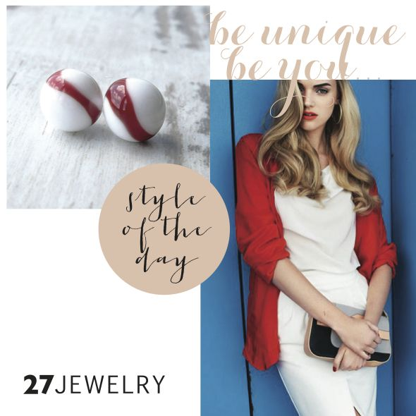 red, white and blue safe summer combination - 27jewelry