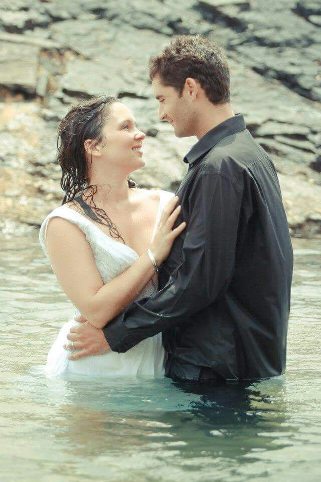 Couples photography beach shoot
