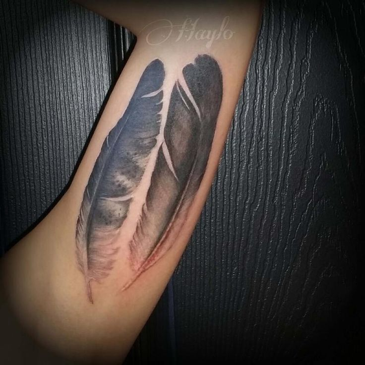 Feather ink that I like.