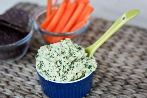 Healthy Super Bowl – Vegan Spinach Dip...going to try this for Sunday. Got to keep my head in the game!: Healthy Super, Baby Spinach, Spinach Dips, Bowls Vegans, Vegans Dips, Super Bowls, Bowls Dips, Healthy Recipes, Vegans Spinach