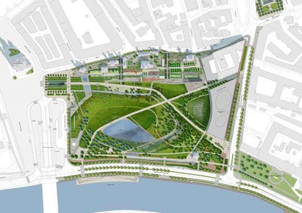 Zarayade Park Landscape Plans Landscape Plan Planting Plan