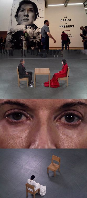 Marina Abramovic: The Artist is Present, 2012 (dir. Matthew...