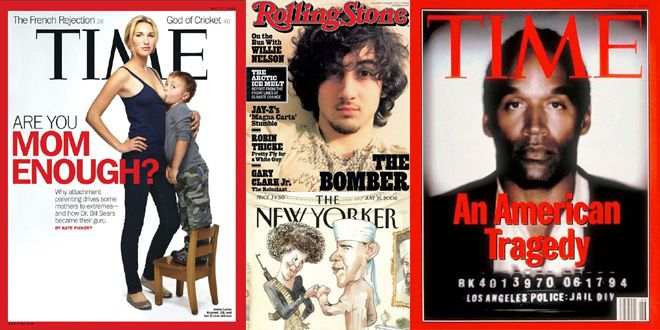 9 Sampul Majalah Paling Kontroversial Sepanjang Masa