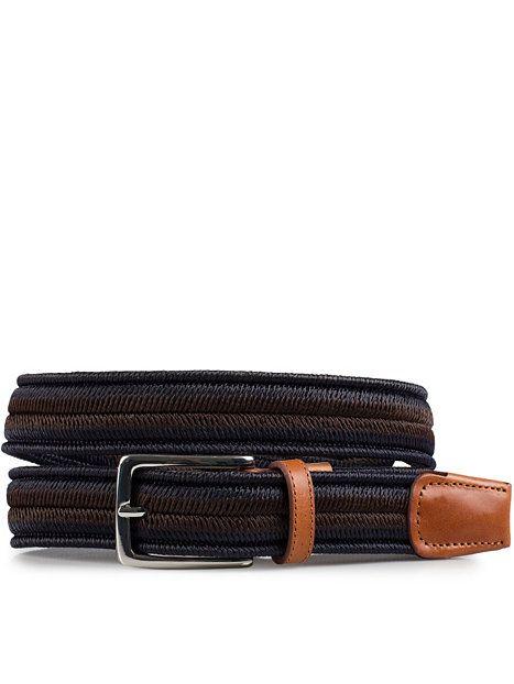 Curt Belt - Selected Homme - Navy Blazer - Accessoarer Övrigt - Accessoarer - Man - NlyMan.com