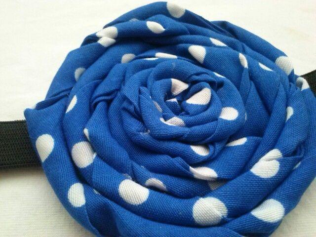 Blue #polkadots