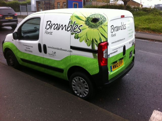 10 Best Images About Florist Delivery Van Graphics Amp Wraps