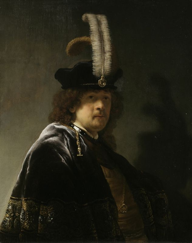 rembrandt harmensz van rijns self portraits Rembrandt harmenszoon van rijn was born on 15 july 1606 in leiden, in the dutch republic, now the netherlandshe was the ninth child born to harmen gerritszoon van rijn and neeltgen willemsdochter van zuijtbrouck his family was quite well-to-do his father was a miller and his mother was a baker's daughter religion is a central theme in rembrandt's paintings and the religiously fraught.