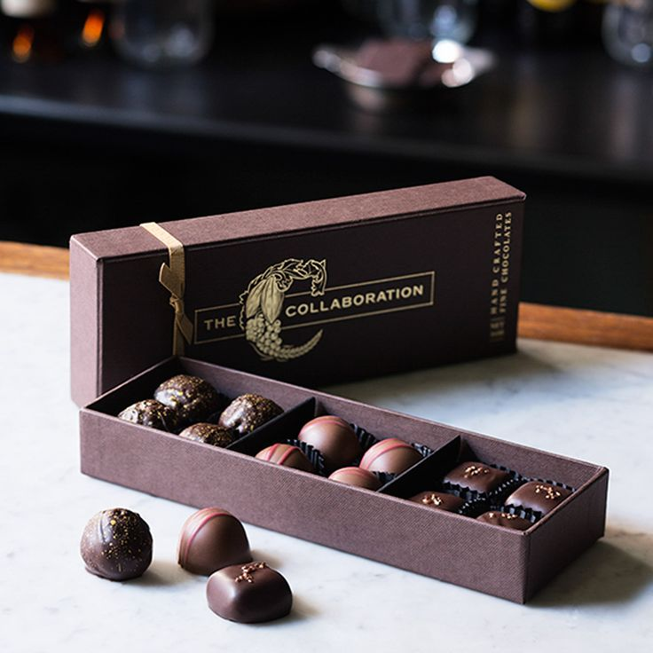 "n celebration of our centenary we have created a very special box of chocolates that uniquely brings together Haigh's as Australia's oldest chocolate maker with Yalumba, Australia's oldest family owned winery and Coopers, Australia's oldest family owned brewery.  Named ""The Collaboration"", this handmade box contains three delicious new chocolates."