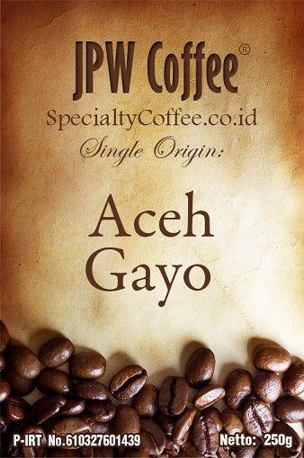 Sumatra Aceh Gayo Roasted Bean Coffee