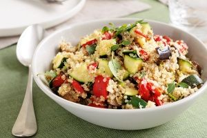 Vegetable quinoa pilaf clean eating low fat and healthy