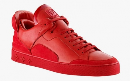 A pair of Trainers designed by American musician, film director and fashion designer Kanye West enjoys highest bid online at $80,000.