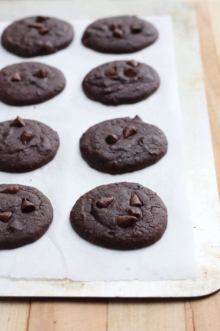 Double Chocolate Black Bean Cookies — Healthy Always