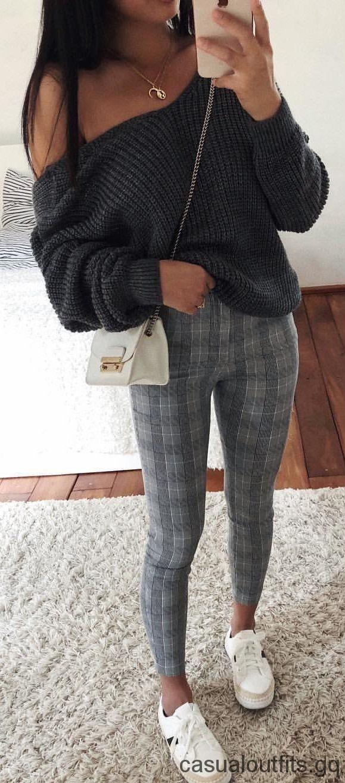 Spiksplinternieuw fall #outfits zwarte corduroy trui. (met afbeeldingen)   Outfits QG-39