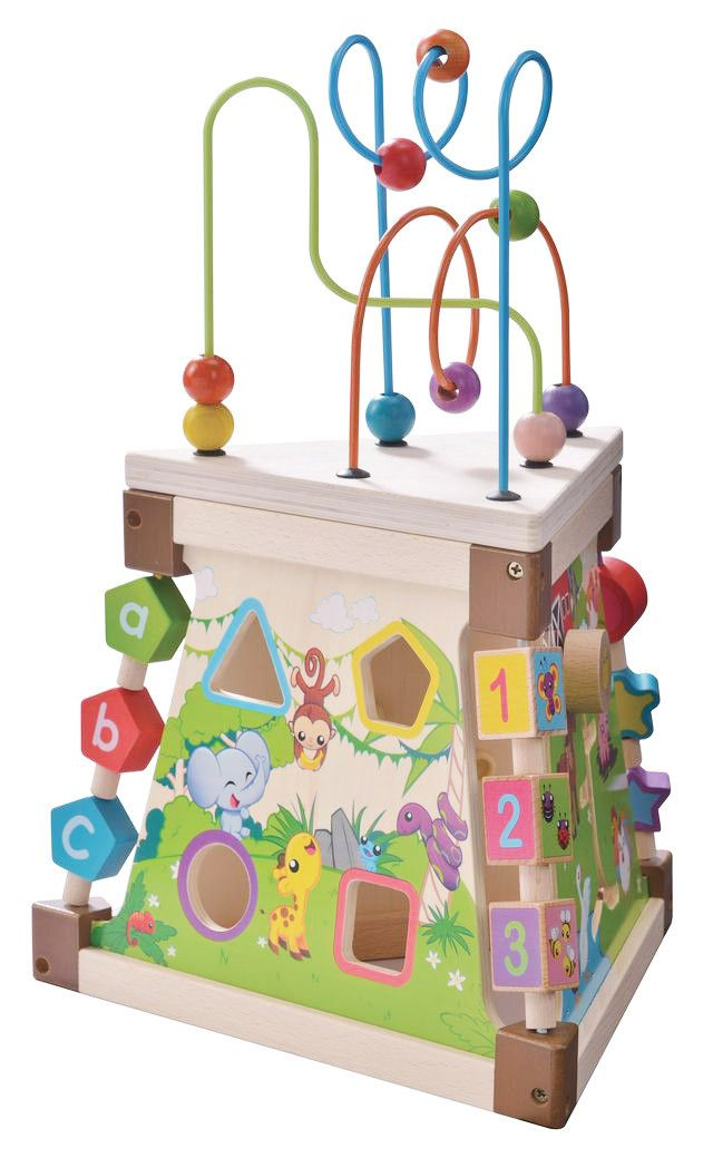 Triangle Activity Play Centre | Play and Grow Toys