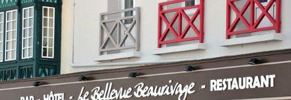 Hôtel - Le Bellevue Beaurivage - Restaurant #tourism #hotel #gastronomy #normandy #picardy #france