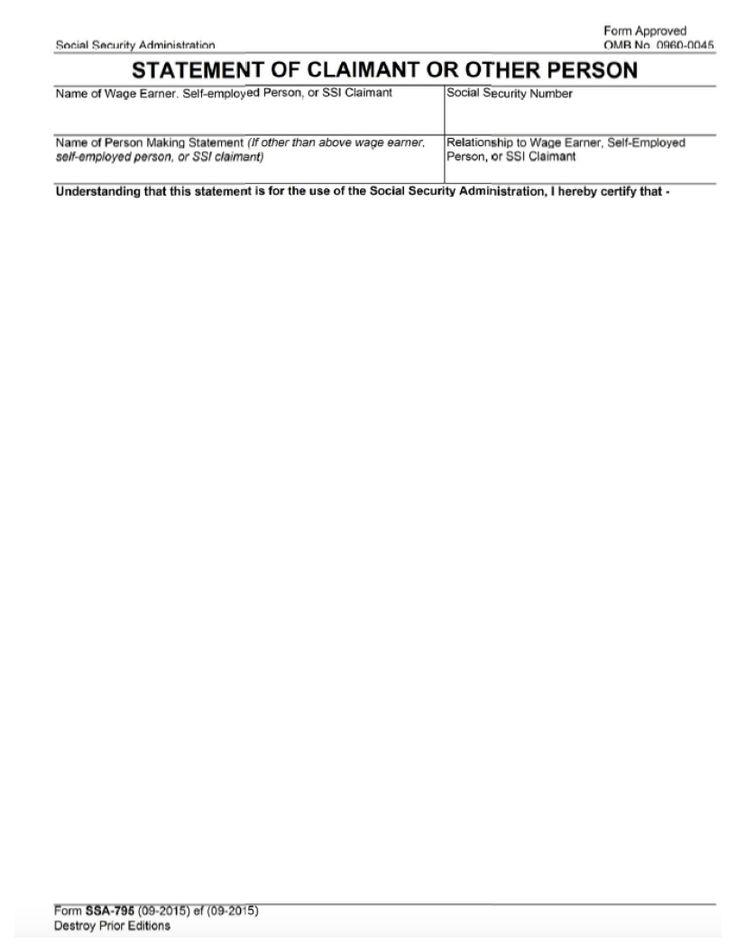 Sign Document social security Pinterest Social security - social security administration form