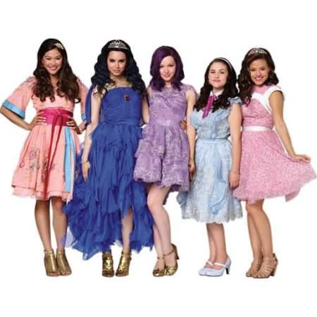 Our household's summer obsession: Disney's Descendants. Super cute fashion inspired by classic Disney movies and cute musical numbers.