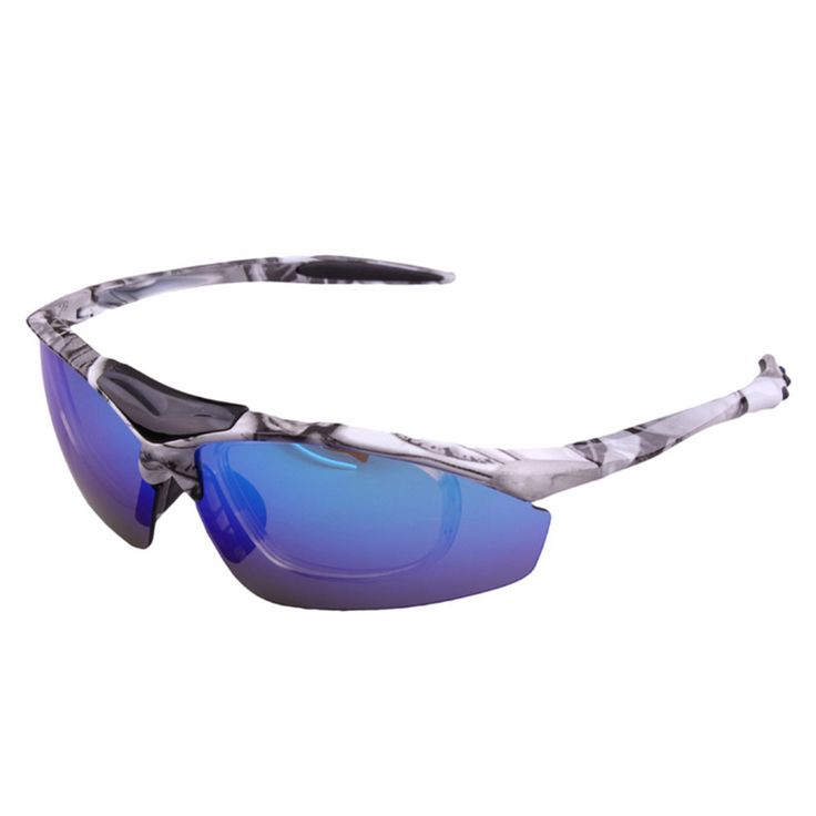 Riding Polarized Glasses Sunglasses XQ-047 white