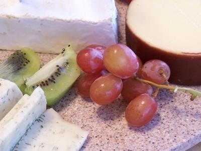 Cheese  Fruit Platter Ideas