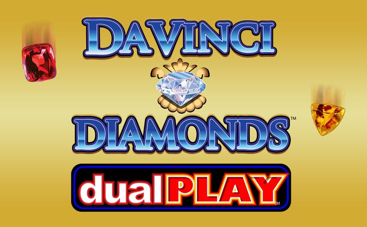Unlock the treasures of Leonardo Da Vinci with the Da Vinci Diamond Dual Play free slot! Created as the second part of the Da Vinci Diamond slot by IGT, it has 5 reels and 40 paylines. Create new winning combinations with the Tumbling Reels feature and get even more wins with a Tumble Thru feature. Activate up to 6 free spins every time you get Scatters on the reels.