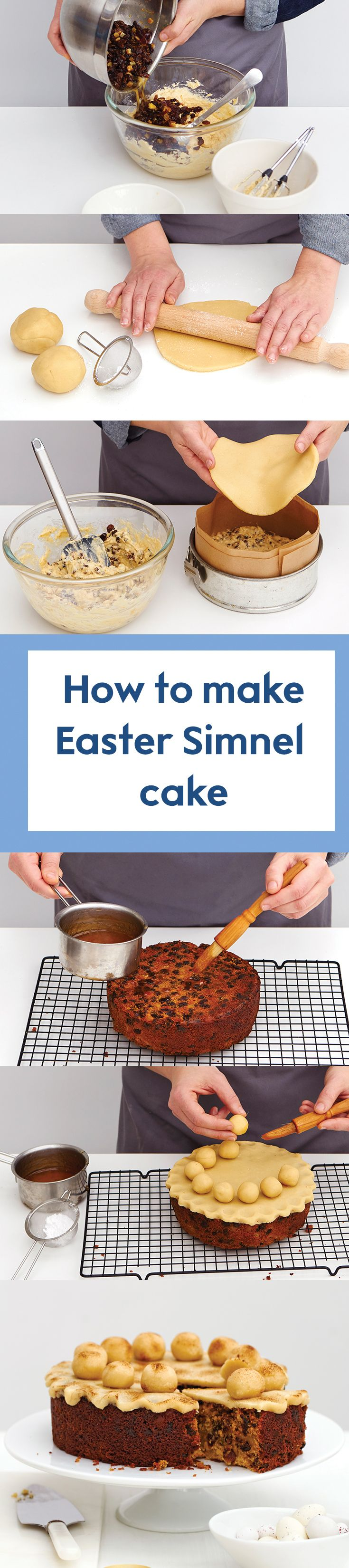 Discover our recipe and top tips to creating the perfect Simnel cake this Easter. We recommend making your own marzipan to make it even more special. Find the recipe on the Waitrose website.
