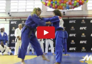 Ronda Rousey took to this seminar in Brazil to show off her Judo skills. Enjoy! Related News:Bellator champ Julia Budd on former foe Ronda Rousey: NobodyVIDEO | Conor McGregor loses all his clothes in latest…AUDIO | Max Holloway on Jose Aldo fight: The world will see…In a perfect world, Daniel Cormier would fight Jon Jones…
