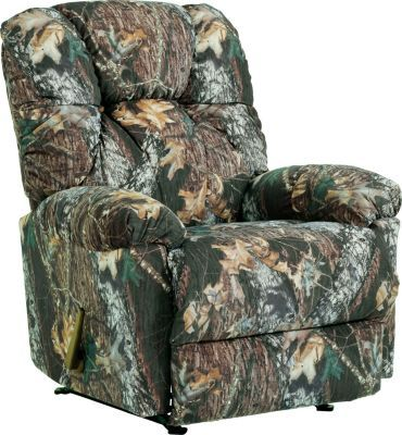 Camouflage Outdoorsman Rocker Recliner – Mossy Oak® Break-Up® #CabelasWishList