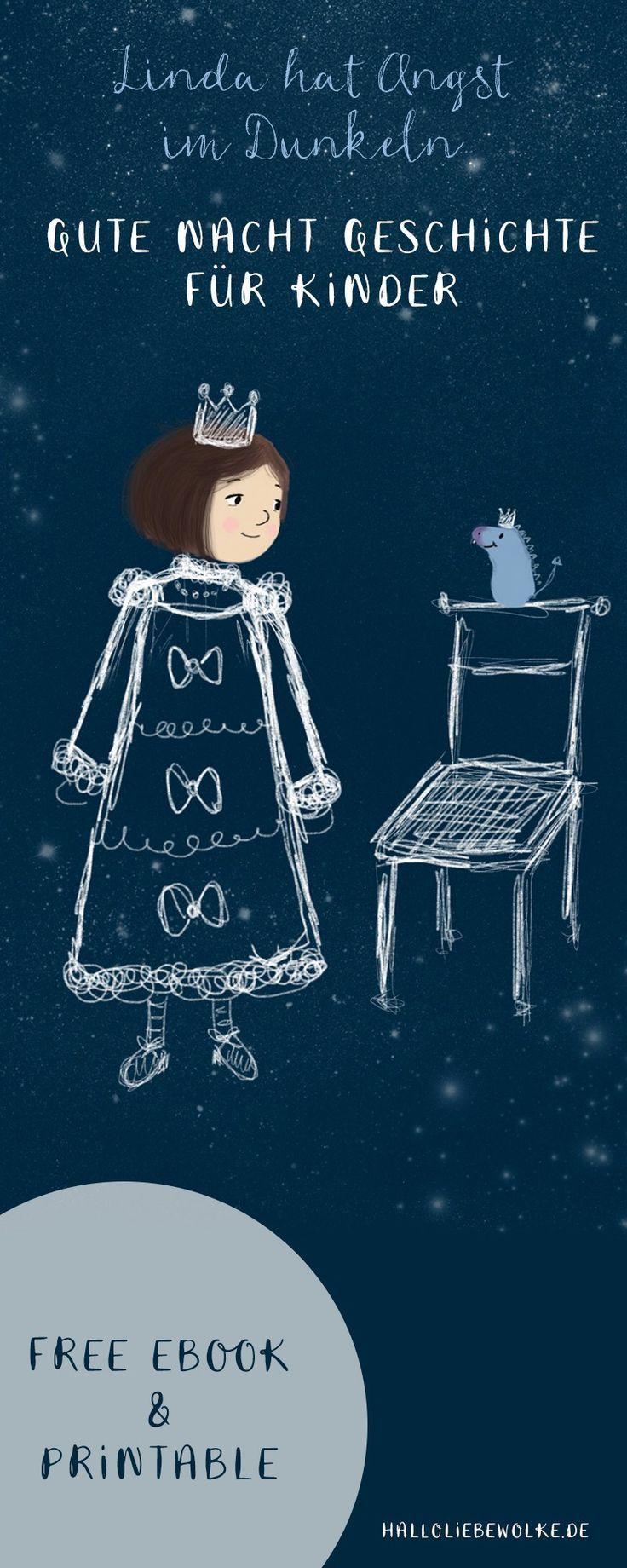 Linda hat Angst im Dunkeln. (Gute Nacht Geschichte – free eBook)