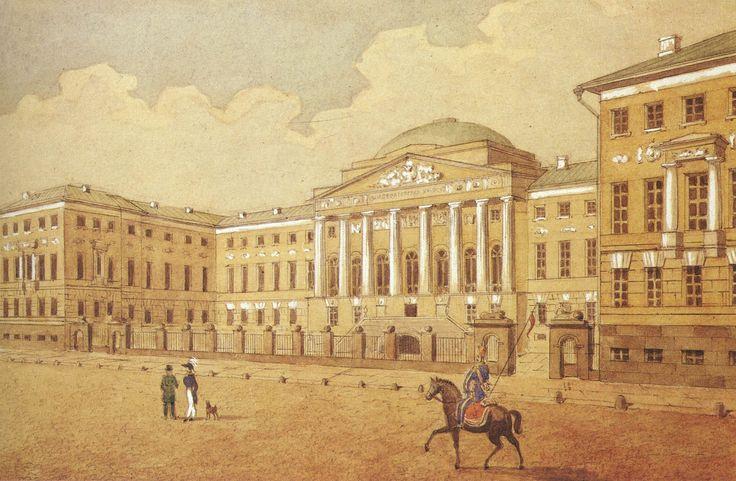 Д.Жилярди. Императорский московский университет, 1815-1818
