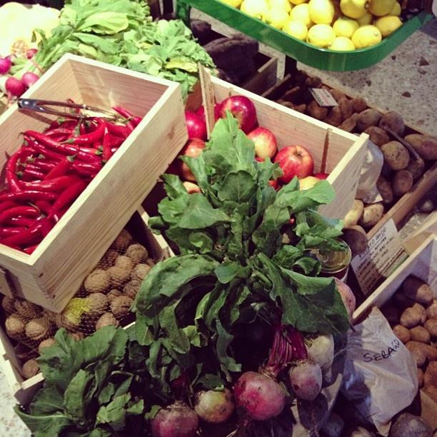 Beauty at the #QueenVictoria Market in #Melbourne #CantWaitToHaveAGarden #veggies #8aDay