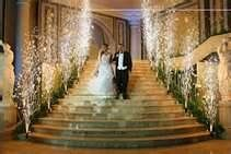 """The beauty of indoor fireworks can add that """"special touch"""" to a beautful wedding ceremony."""