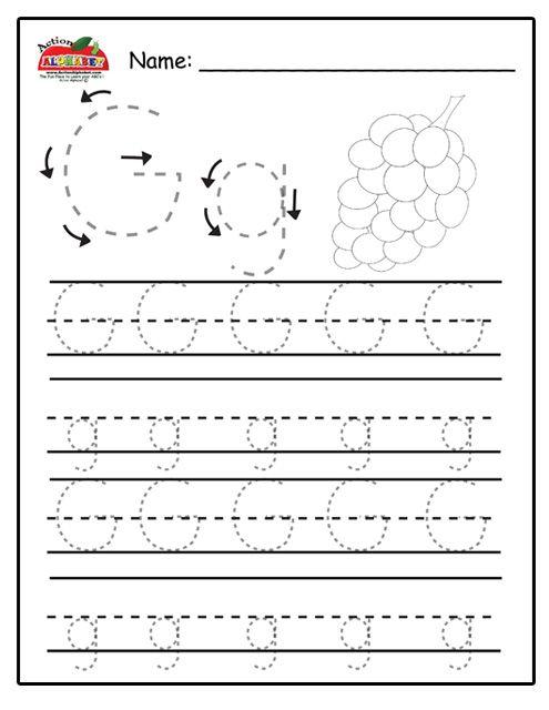Trace Letters | Preschool Lesson Plans