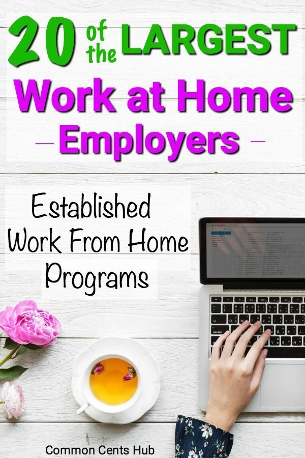 20 Legitimate Work From Home Companies Hiring Now …