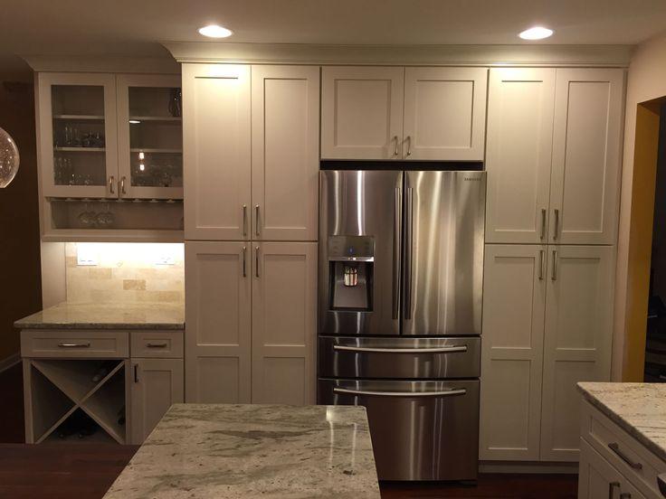 241 best Kitchens - White & Off White images on Pinterest | Kitchen ...
