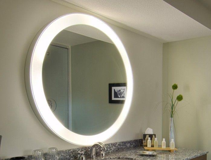 Heated Bathroom Mirror