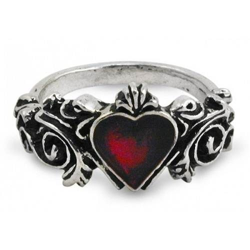 gothic wedding rings sets ring beauty - Goth Wedding Rings