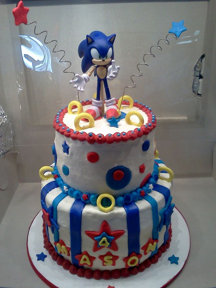 Sweet Treats By Angie Sonic The Hedgehog Cake