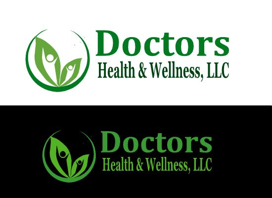 Logo and branding for Health and Wellness Center, specializing in Nutrition and Weightloss by ezzoo designer