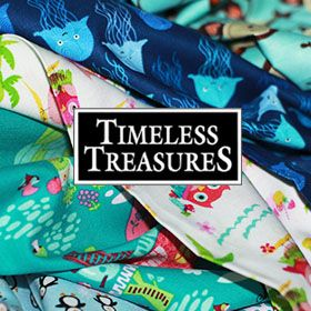 Timeless Treasures Stoffe