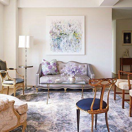 Isaac Mizrahi and Arnold Germer : Tour Isaac Mizrahi's Greenwich Village Home : Architectural Digest
