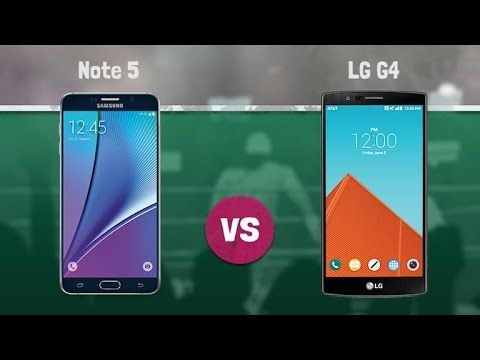 Let's have a look at Samsung Galaxy Note 5 vs LG G4 to now how they are different and perform against each other. Both Samsung and LG phone are high-end devices.