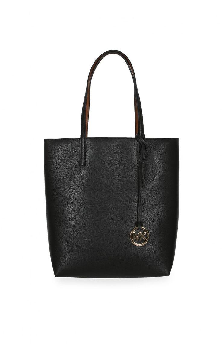 Väska Izzy LG MS Tote BLACK/LUGGAGE - Michael - Michael Kors - Designers - Raglady